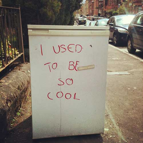 Used to be cool